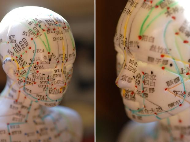 Homeopatie. Acupunctură, hartă