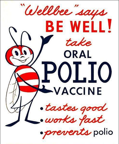 Vaccinuri. Propagandă. Polio.jpg